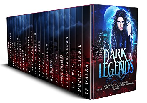 $1 Steamy Paranormal Romance 20 Book Box Set Deal of the Day